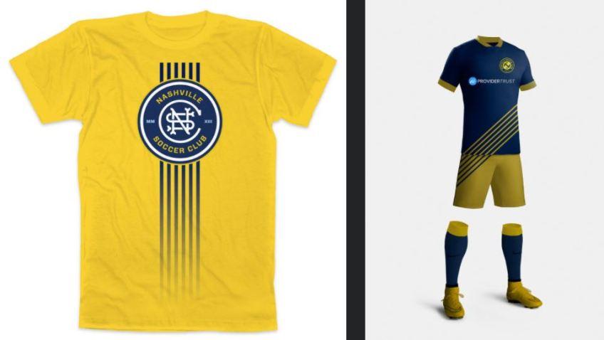 info for 66e9a e2f33 Nashville SC logo designs by Stephen Jones | Golden Goal