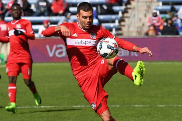 Nemanja Nikolic scored 24 goals for the Chicago Fire and won the 2017 MLS Golden Boot.